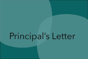 Principal's Letter – 3rd April 2020